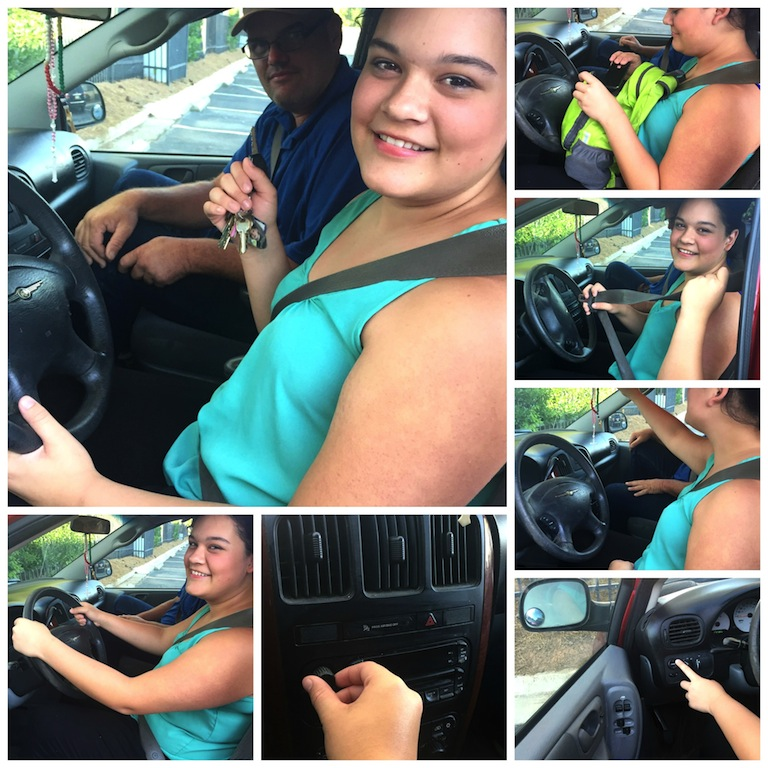 Your Teens First driving Lesson -Safety Tips and Procedures for teens and parents #GetthereSafe #Ad