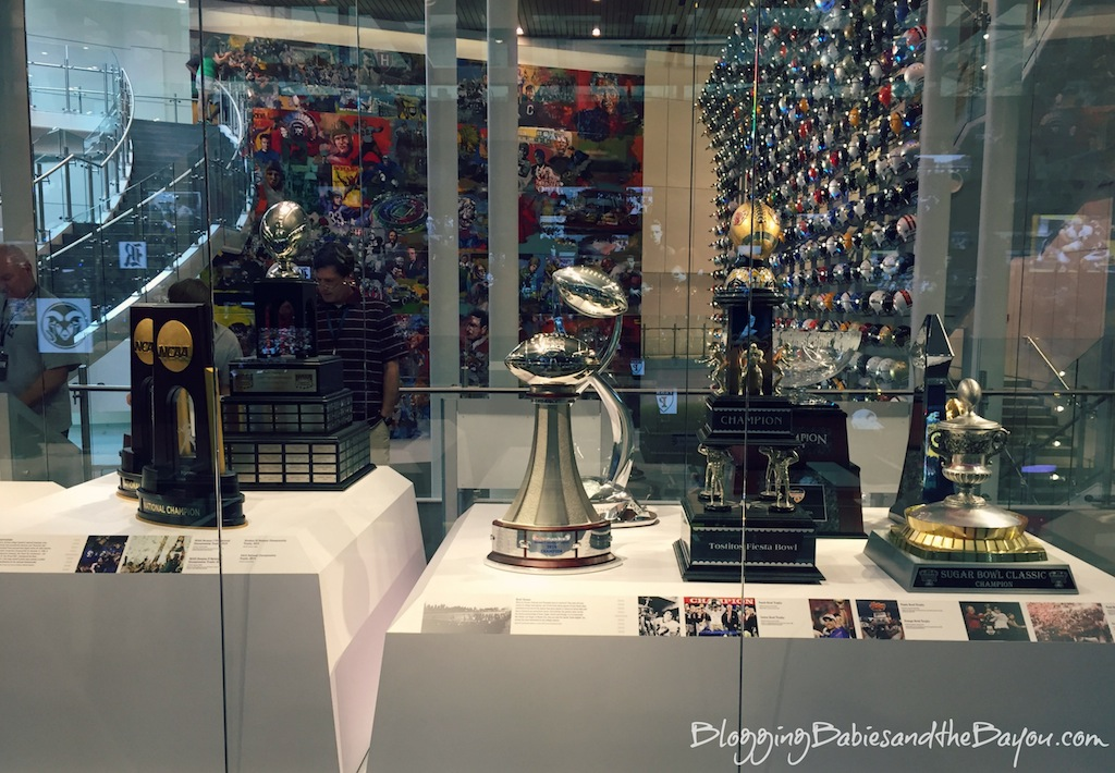 Atlanta Georgia Family Attractions  College Football Hall of Fame #BayouTravel
