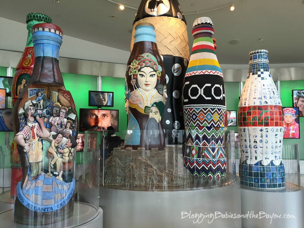Atlanta Georgia Family Attractions - World of Coca Cola Museum #BayouTravel