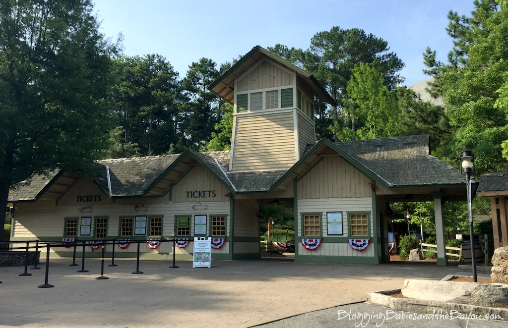 Family Attractions in the Atlanta Georgia Area - Stone Mountain Adventure Park #BayouTravel