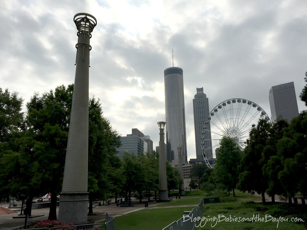 Free in Atlanta- Things to do in Atlanta Georgia - Free Attractions in Downtown Atlanta Centennial Olympic Park