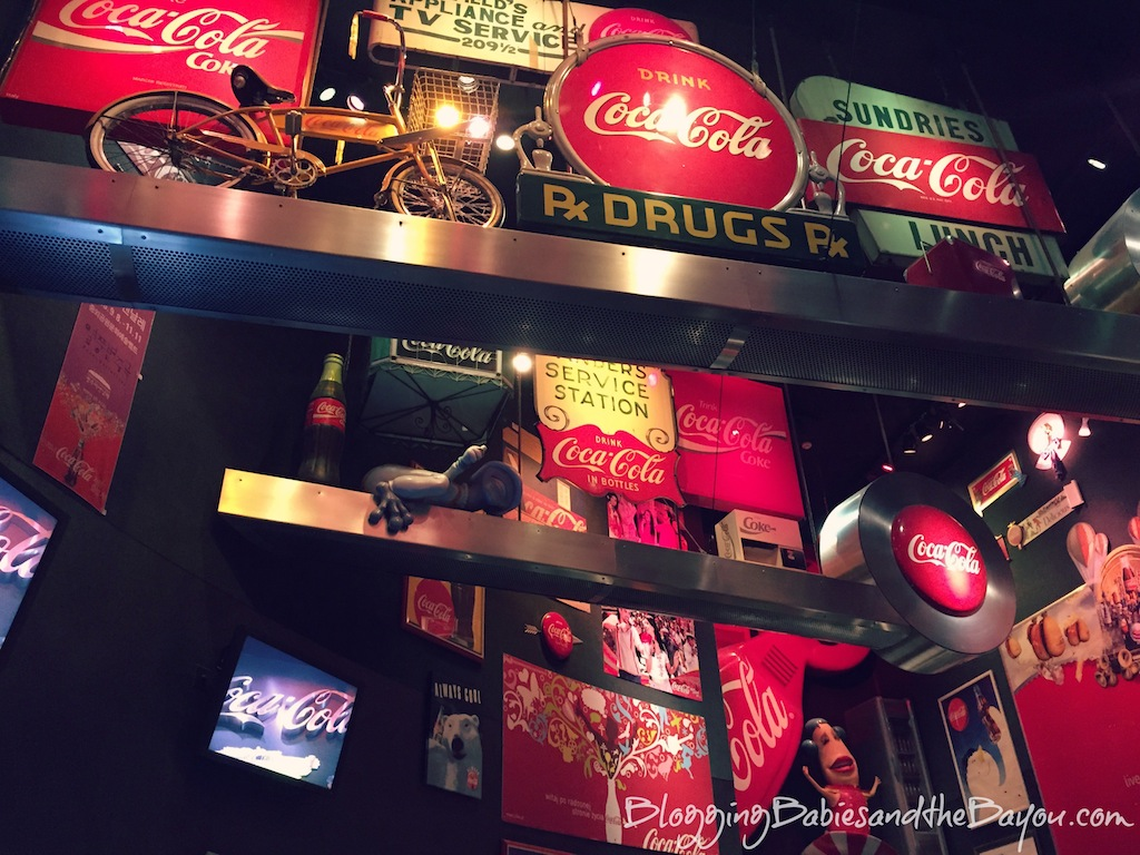 IAtlanta Georgia Area Family Attractions - World of Coca Cola Museum #BayouTravel