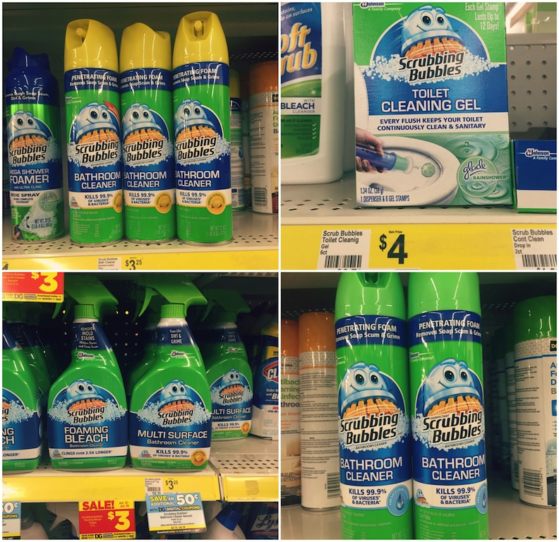 Saving Time & Money w Scrubbing Bubbles®‎ & Dollar General #SavewithBubbles #CollectiveBias AD