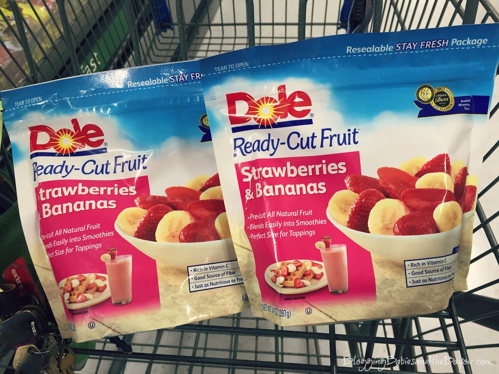 Strawberries & Banana Paletas using Dole Packaged Frozen Fruit Recipe #Dolecioso #Ad