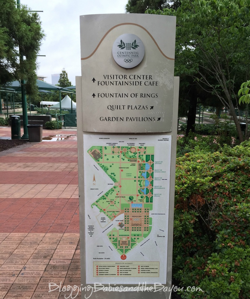 Things to do in Atlanta Georgia - Free Attractions in Downtown Atlanta with Family - Centennial Olympic Park