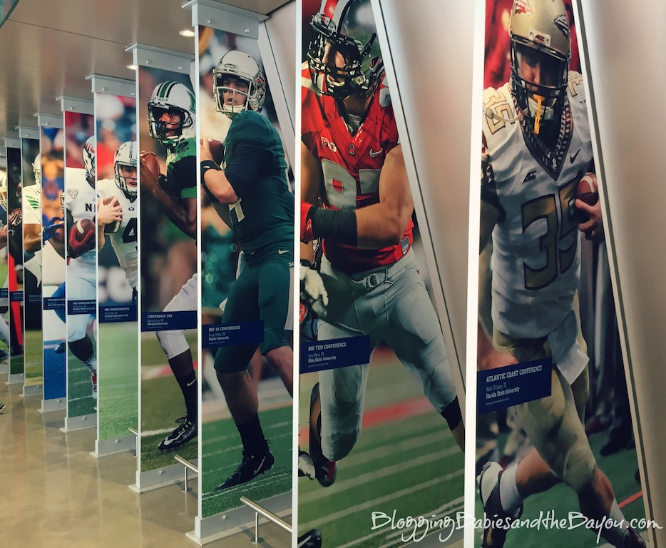Top Atlanta Georgia Family Attractions - College Football Hall of Fame  #BayouTravel
