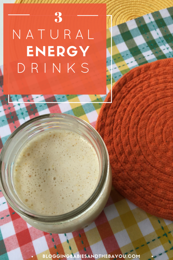 3 recipes for natural energy drinks
