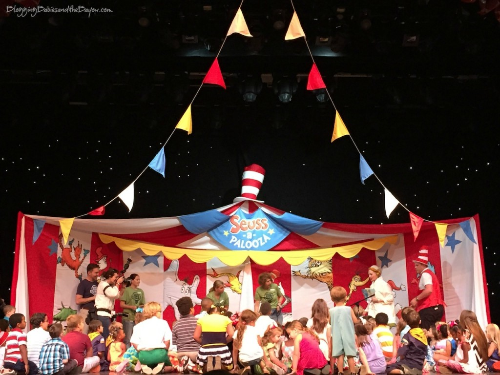 Angel Hill, Carnival Cruise Lines & Dr. Seuss team up - Sailing  Away with Dr. Seuss & Carnival Dream - Dr. Seuss-a-Palooza in New Orleans #CruisingCarnival  #BayouTravel #SeussatSea {ad}