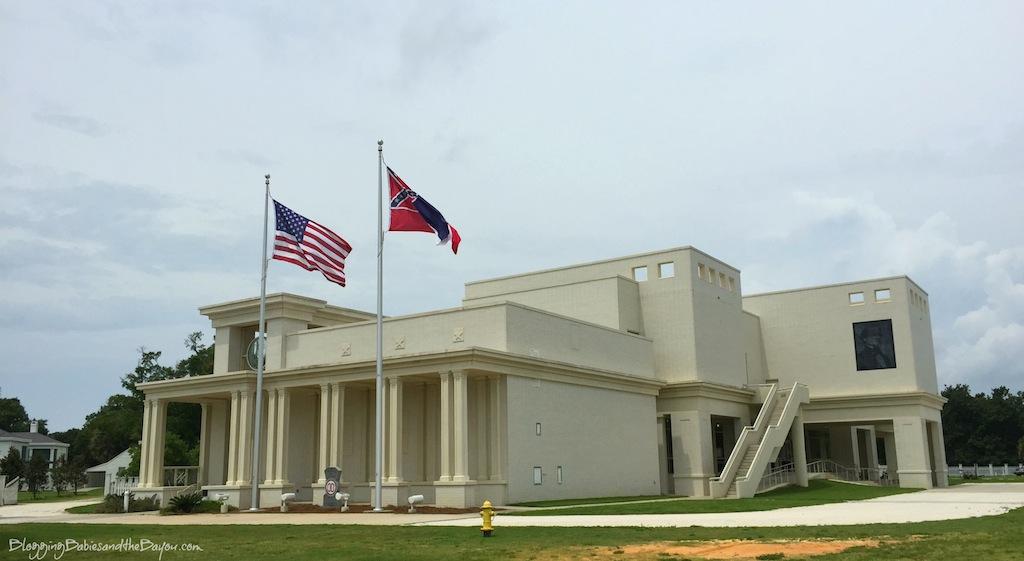 Beauvoir - Jefferson Davis Home in Biloxi Mississippi - MS Gulf Coast Travel #BayouTravel