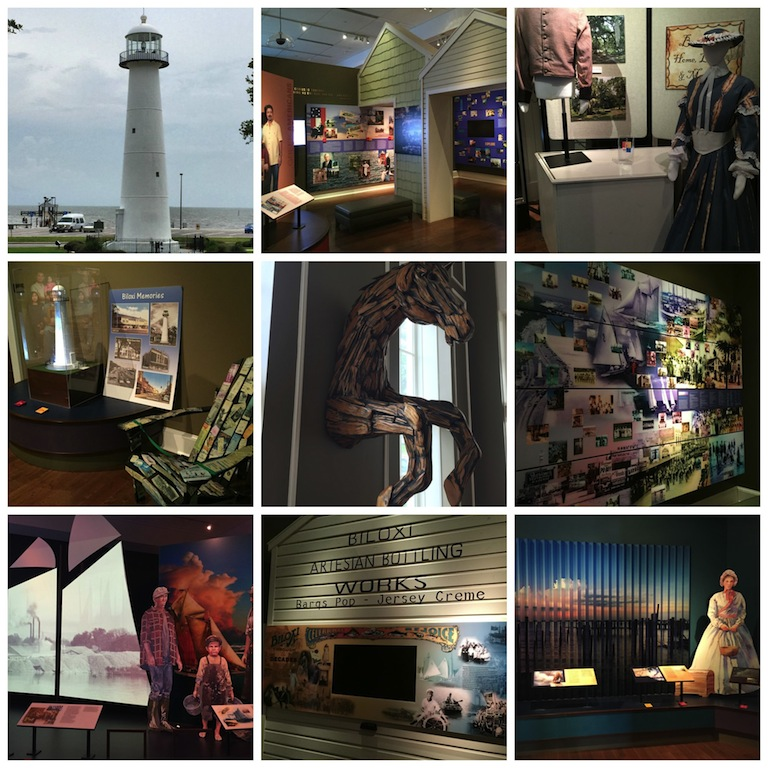 Biloxi Tourist Center - Mississippi Gulf Coast Travel Attractions - MS Gulf Coast  Area Travel  #BayouTravel