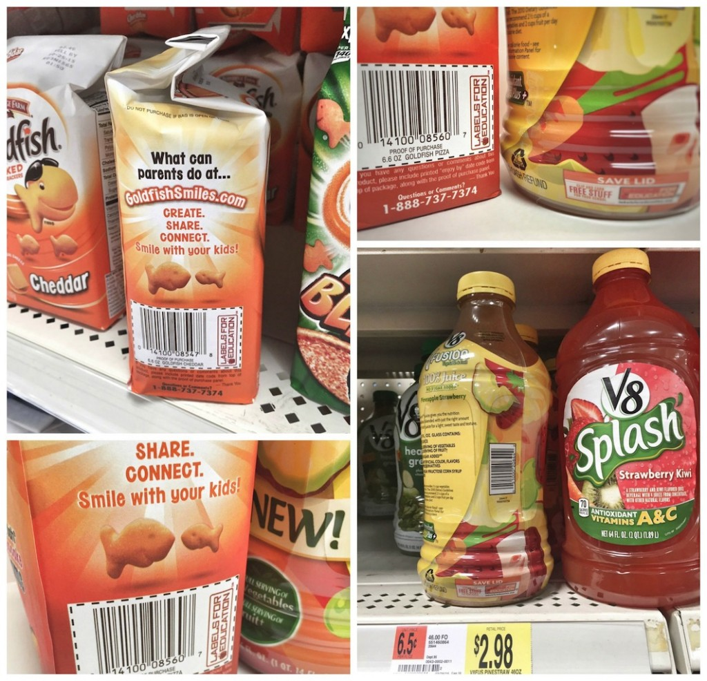 Get Ready for Back to School  & Give Back Campbells Labels for Education Program {ad}