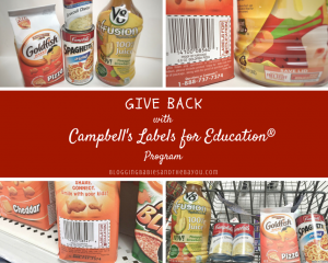 Get Ready for Back to School & Give Back Campbells Labels for Education Program {ad}(1)
