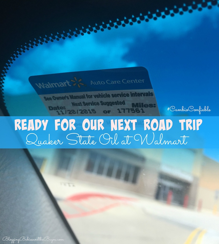 Preparing Your Vehicle  for an Upcoming Family Road Trip with Walmart and Quaker State Oil #CambioConfiable #CollectiveBias {ad}