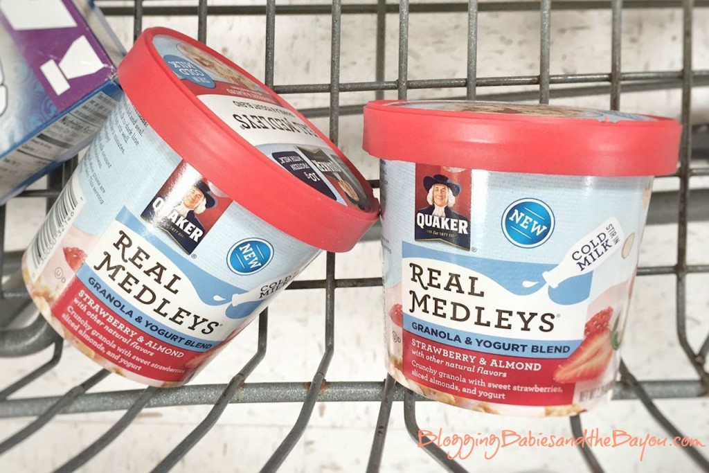Quaker Real Medleys Granola & Yogurt Blend - Pancake Recipe