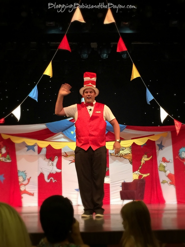 Sailing  Away with Dr. Seuss & Carnival Dream - Dr. Seuss-a-Palooza in New Orleans #CruisingCarnival  #BayouTravel  {ad}