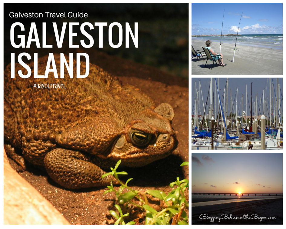 Texas Travel - Galveston Travel Guide #BayouTravel