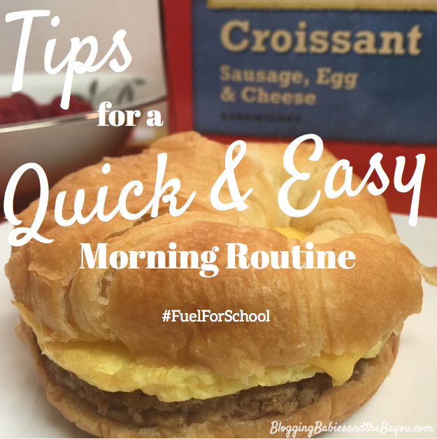 Tips for a Quick & Easy Morning Routine w: the help of  Hillshire Farms & State Fair #FuelforSchool #CollectiveBias {ad}