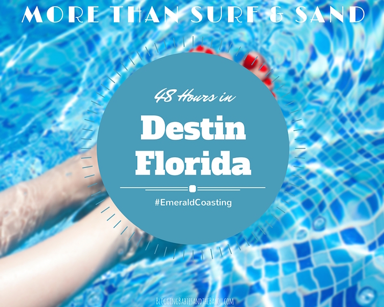 48 Hours in Destin, Florida more than Surf & Sand - Alternative Beach Attractions Options #EmeraldCoasting