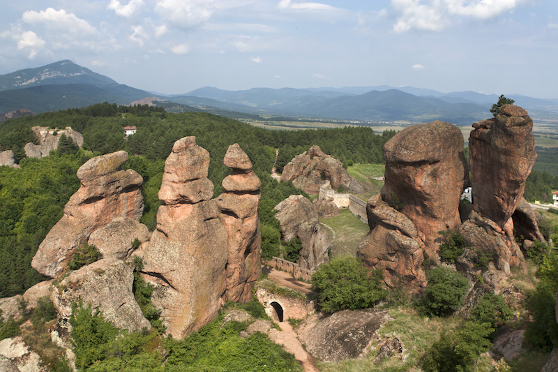Bulgaria European Bucket List Travel - Belogradchik Rocks in Bulgaria #BayouTravel