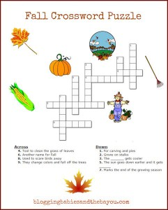 Fall & Halloween Activities for Children – Holiday Inspired Printables
