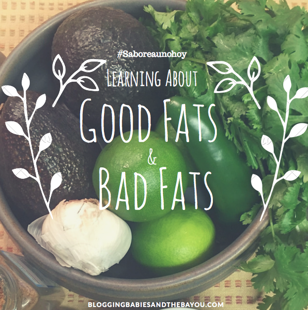 Learning about good & Bad fats including the Health Benefits of Avocados #saboreaunohoy #Ad