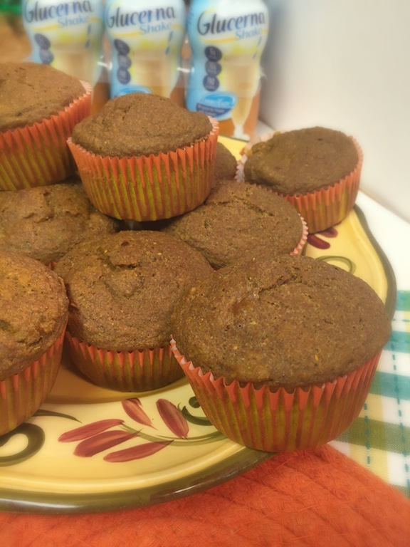 Minimize Blood Sugar Spikes & Sugar Cravings -Pumpkin Spice Muffins Recipe #GlucernaContigo Ad