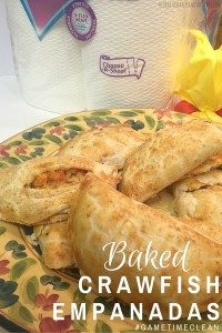 Game Day Recipe – Baked Crawfish Empanadas #GameTimeClean {ad}