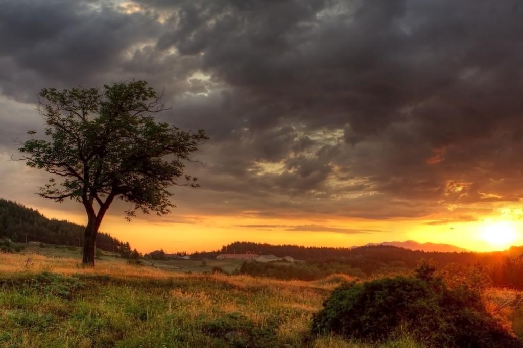 Sunset in Bulgarian Mountains -Worldwide Sunsets #BayouTravel