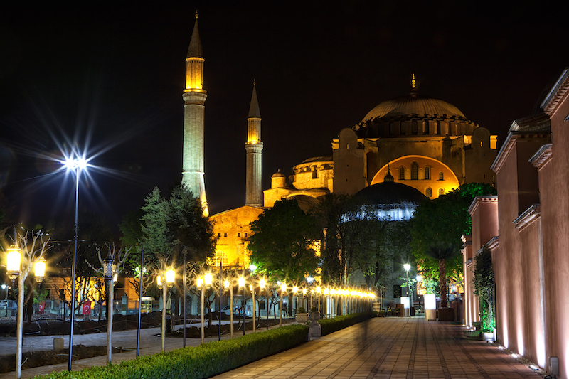 European Travel - Hagia Sophia located in Istanbul, Turkey #BayouTravel