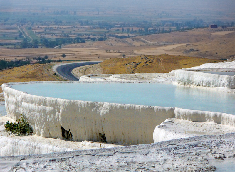 European travel Attractions and Sites - Pamukkale Turcia in Istanbul turkey #BayouTravel