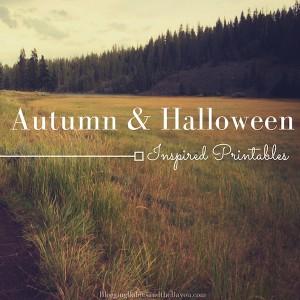Fall & Halloween Printables for Children - Autumn Inspired Printable(1)