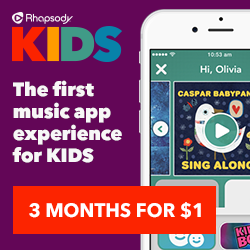 Music Subscription For Kids w/ #RhapsodyKids – Enter to WIN a $300 Giftcard {ad}