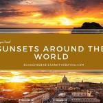 Wordless Wednesday – Amazing Sunsets Around the World #BayouTravel