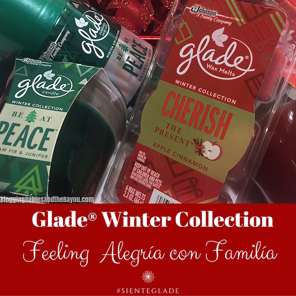 Glade® Winter Collection - Feeling Alegria con Familia #SienteGlade