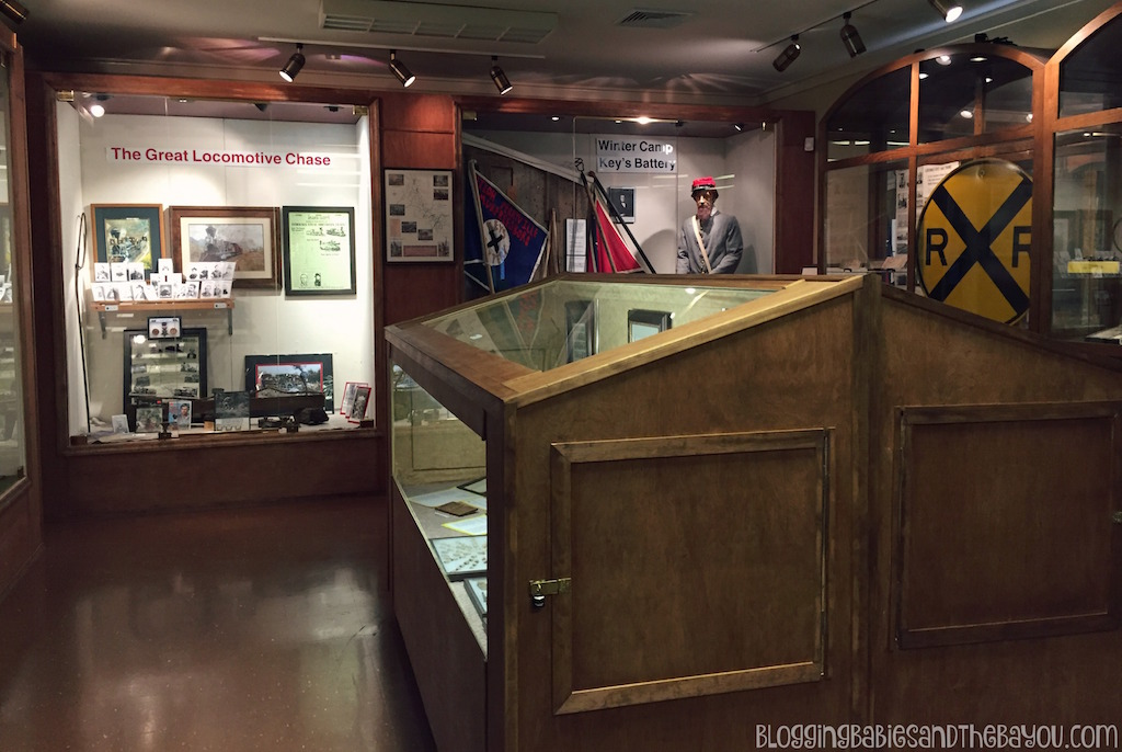 Historic Western & Atlantic Museum & Tour - Museums & BattlePark + More in Chattanooga Tennessee #BayouTravel