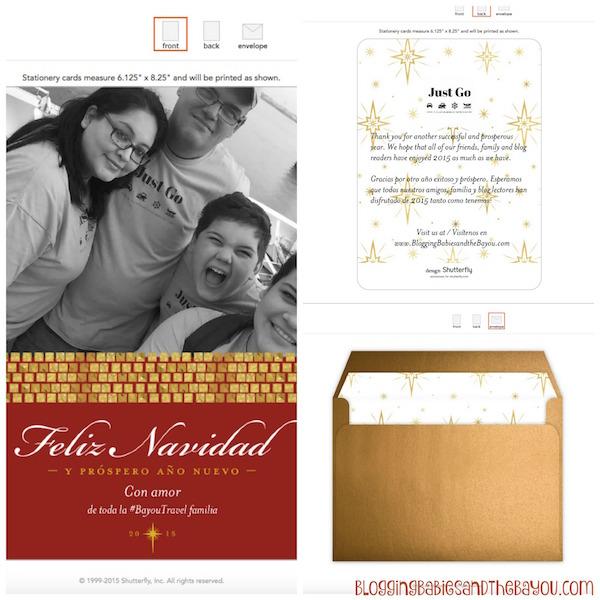 Celebrating the Holidays w Mi Vida Shutterfly a $50 Gift