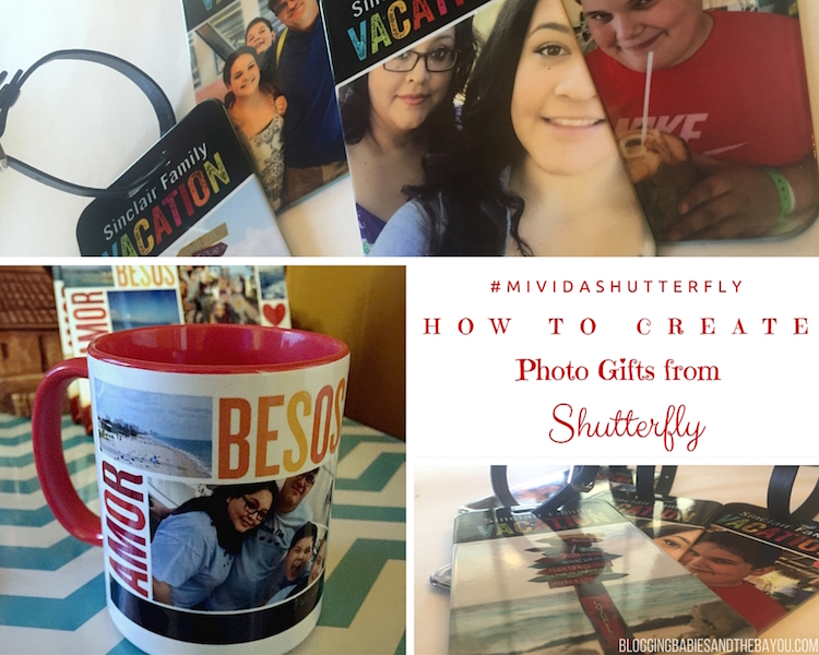 How to Create Photo gifts from Shutterfly #MiVidaShutterfly {ad}