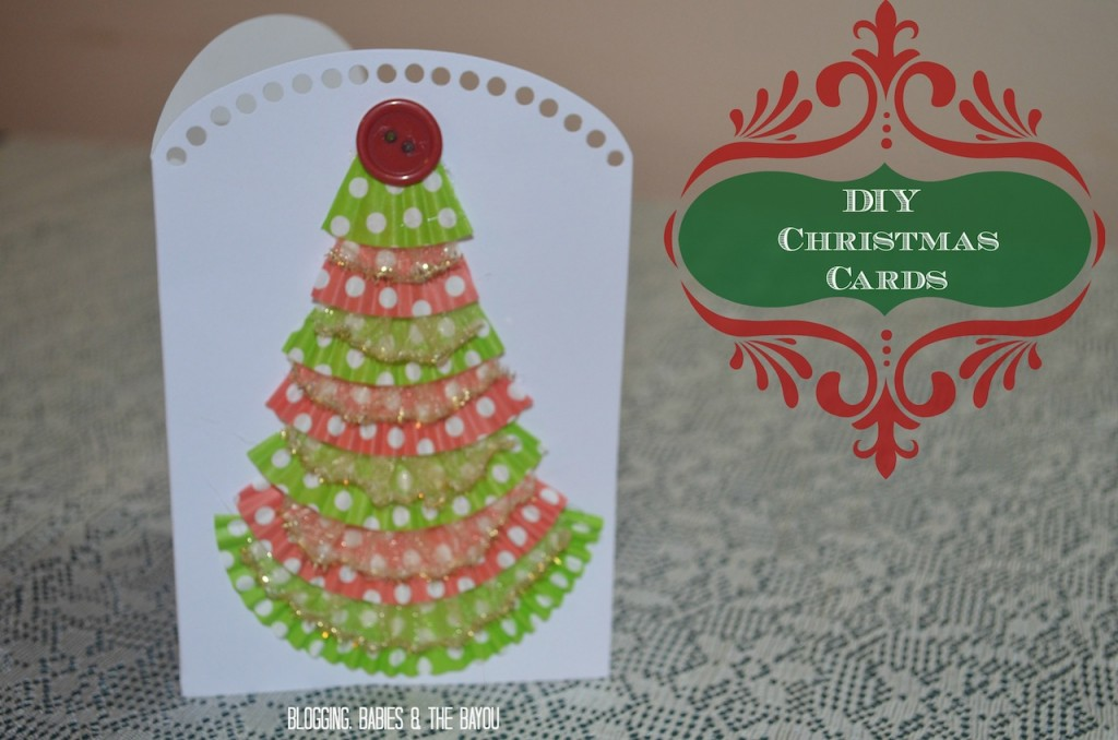 How to Make Your Own DIY Christmas Cards