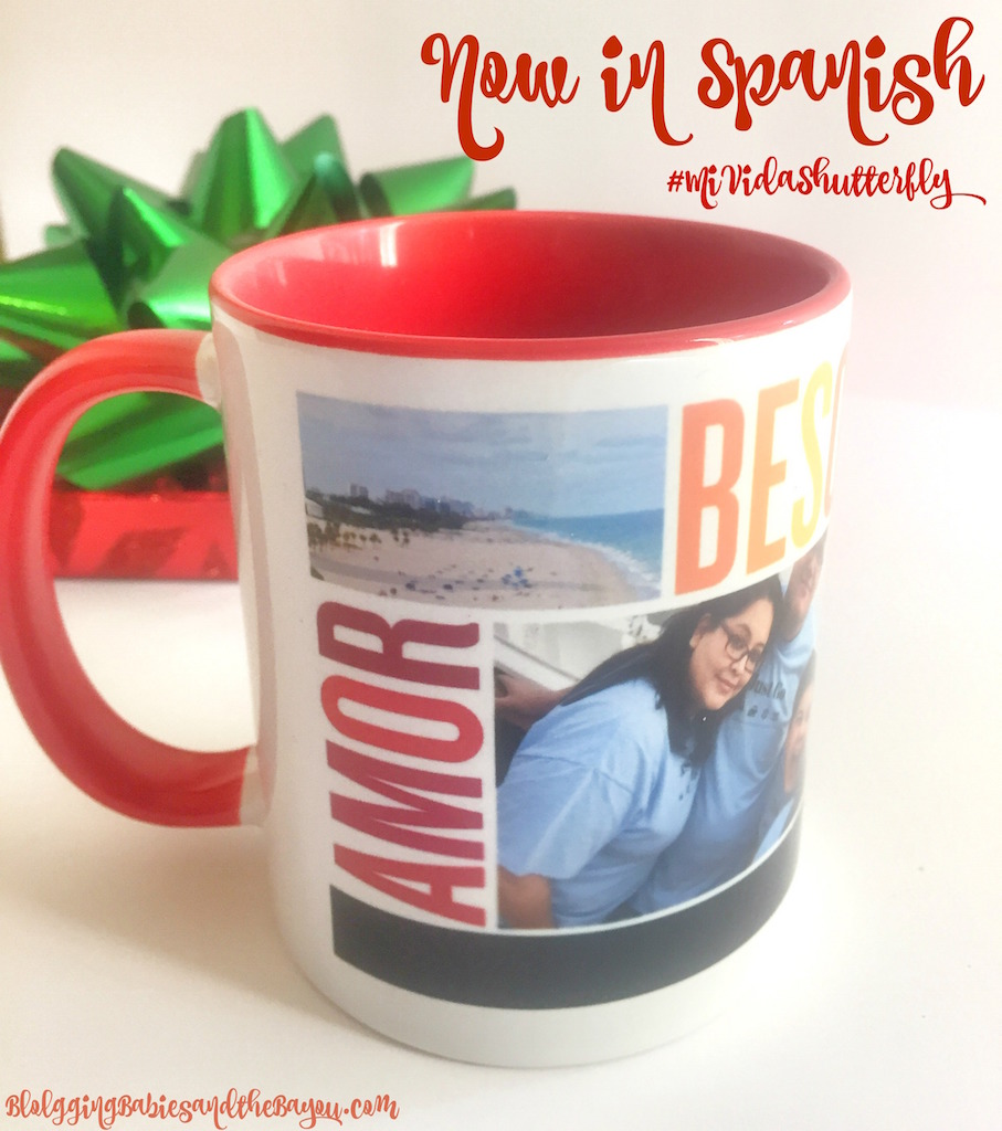 Preparing for the Holidays -How to Create Holiday Gifts from Shutterfly Now in Spanish  #MiVidaShutterfly {ad}
