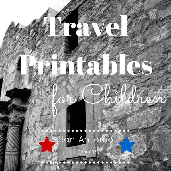 Travel Printable for Kids - San Antonio Texas Word Search Activity for Children #BayouTravel