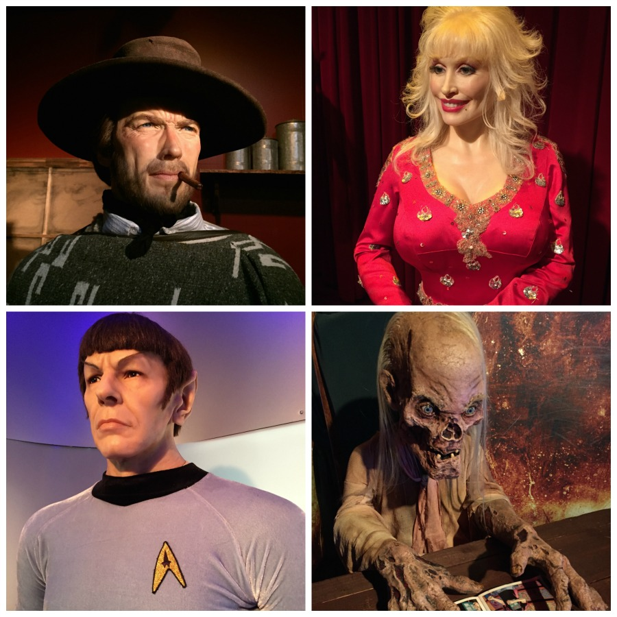 Celebrities and Movie Icons - Smoky Mountain Attractions - Hollywood Wax Museum - Pigeon Forge TN #BayouTravel
