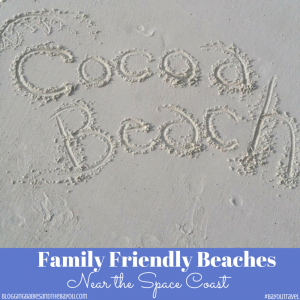 Family Friendly Beaches near the Space Coast #BayouTravel