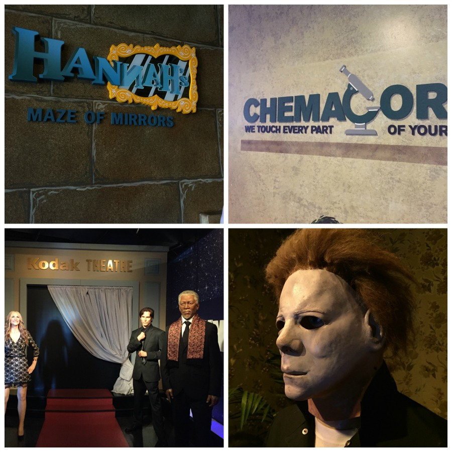 Smoky Mountain Attractions -Hollywood Wax Museum - Pigeon Forge, TN #BayouTravel