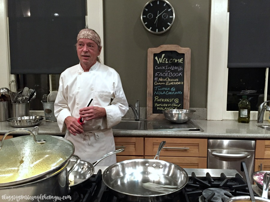 Cooking Class at The New Orleans Cooking Experience with special Guests the Fabulous Beekman Boys #Bayoutravel