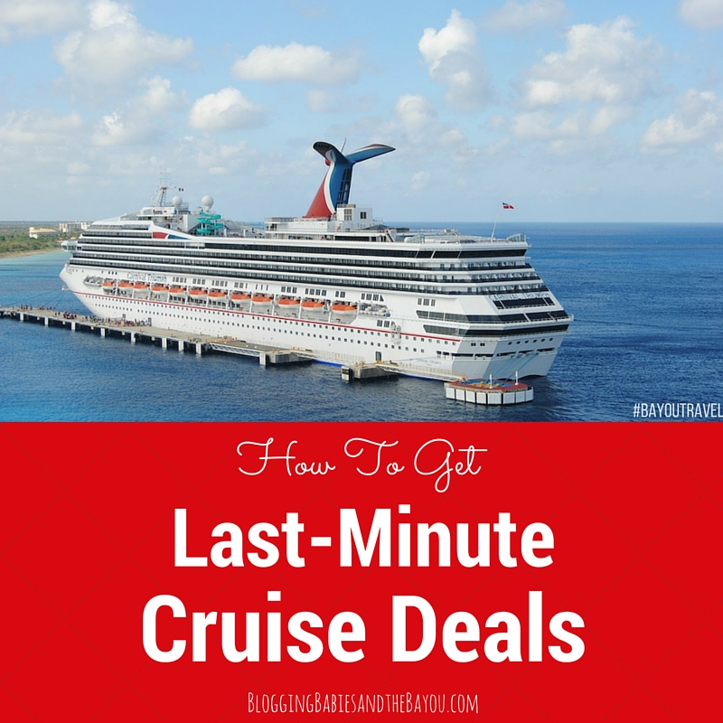 How to Get An Unbelievable Discount in a Last Minute Cruise #BayouTravel