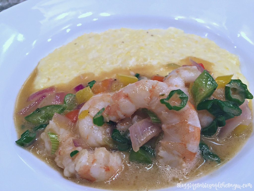 Shrimp & Grits at New Orleans Cooking Experience with special Guests the Fabulous Beekman Boys #Bayoutravel