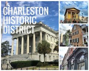 Sights of Downtown Historic District Charleston, South Carolina  #BayouTravel