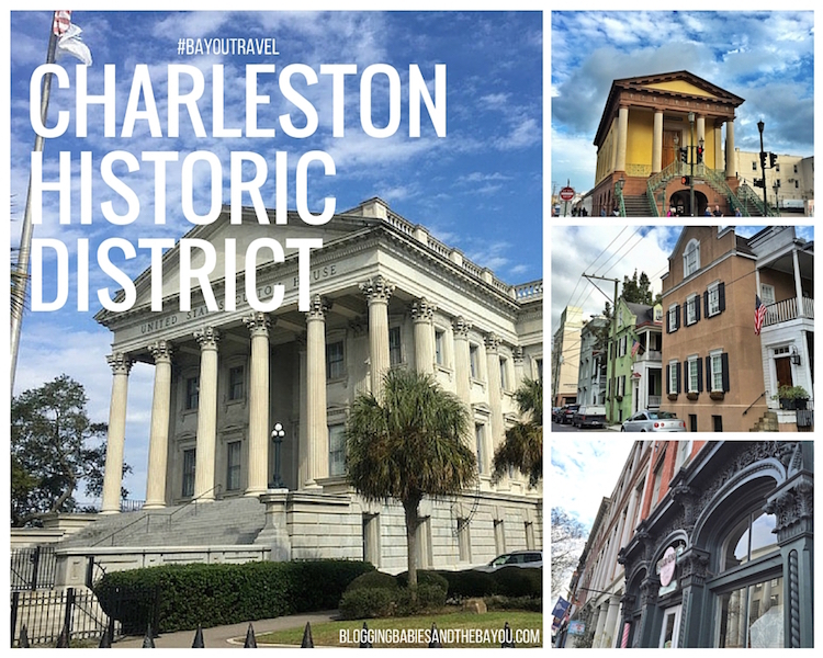 Charleston Historic District - South Carolina Travel #BayouTravel
