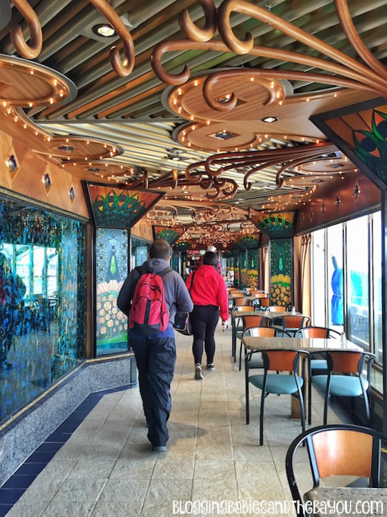 Lido Deck buffet - Carnival Cruise Elation - Ship Details, Decor, Dining menu and more #BayouTravel