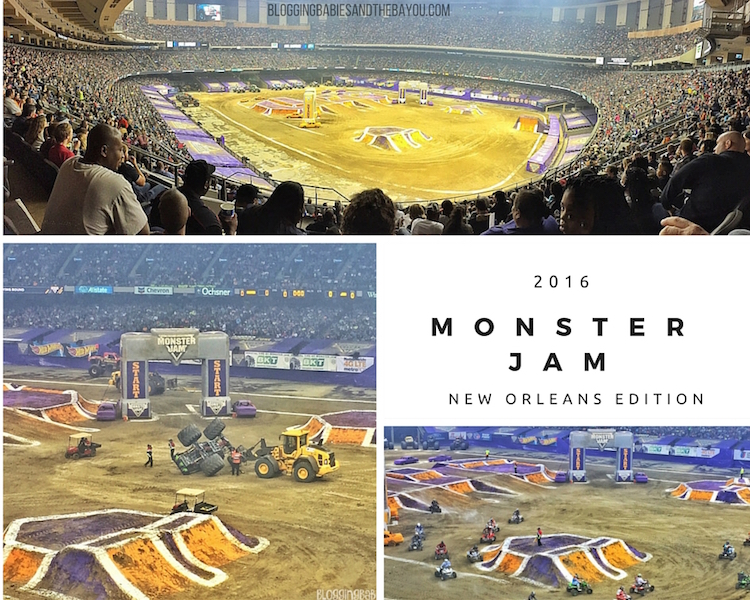 Monster Jam 2016 - New Orleans Mercedes-Benz Superdome Recap - New Orleans Edition #BayouTravel